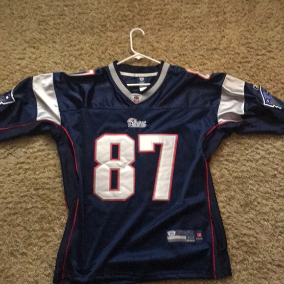 timeless design 8cbeb 870dc Rob Gronkowski home jersey